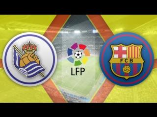 Реал Сосьедад 1:1 Барселона   Испанская Примера 2016/17   13-й тур   Обзор матча