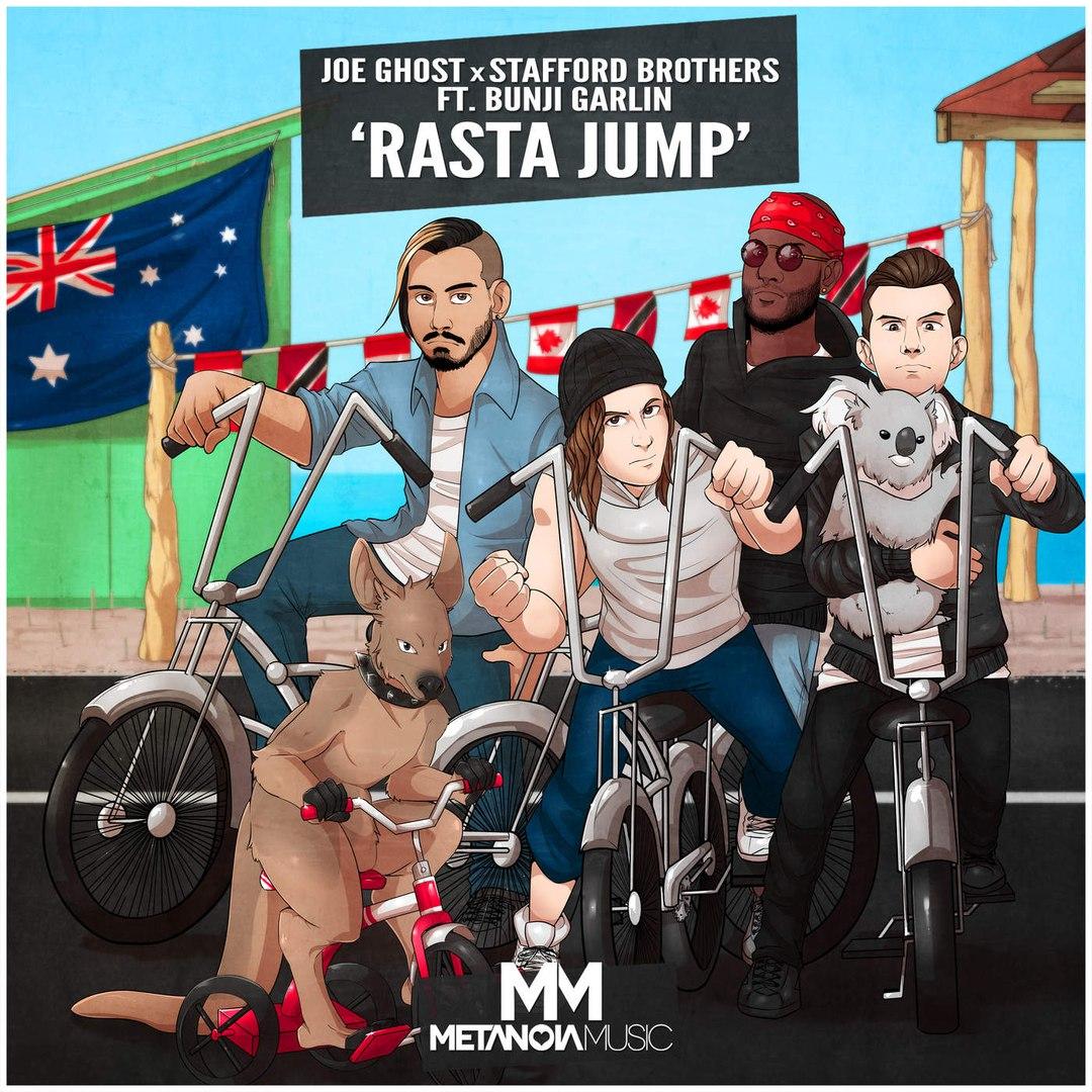 Joe Ghost x Stafford Brothers - Rasta Jump (Original Mix) (feat. Bunji Garlin)