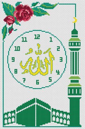 Схему Вышивка Крестом Главная Мечеть Мусульмани