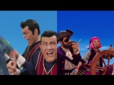 We are Number One but You are a Pirate but contain ponies