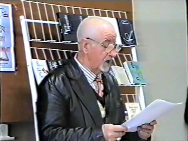 Сустрэчы ў БДУ. Рыгор Барадулін 16.10.2003
