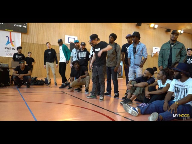 UGLY FATE VS BOY JAMSY 1 16 FINAL Hip Hop vs Krump Championship Vol V 2016