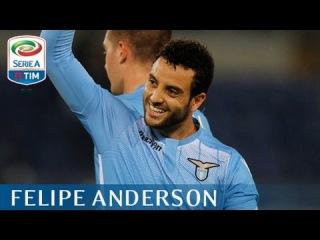 Il gol di Felipe Anderson (94') - Lazio - Torino - 3-0 - Giornata 9 - Serie A TIM 2015/16