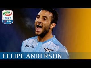 Il gol di Felipe Anderson - Lazio - Genoa 2 - 0 Giornata 5 - Serie A TIM 2015/16