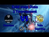 Cold snap Dota 2 Tournament FINAL Houston vs Yolo Gaming (FIRST MAP)