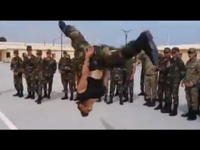 Azerbaycan Esgeri Lezginka / Азербайджанские солдаты лезгинка