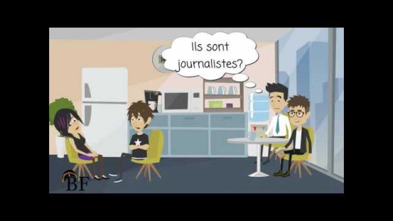 Урок французского языка 4 с нуля для начинающих: глагол être во множественном числе » Freewka.com - Смотреть онлайн в хорощем качестве
