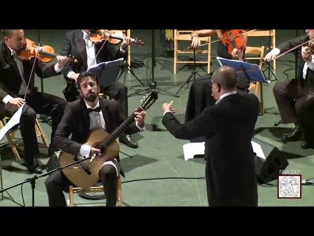 Eren Sualp performing Mauro Giuliani Concerto for guitar and string orchestra op.30