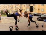 Как убить свои ноги за 4 минуты | Тренировка от супер тренеров