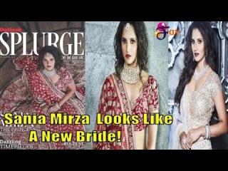 Sania Mirza As She Looks Like A New Bride!