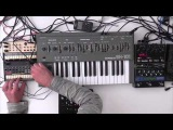 Roland SH 101  -  Electro Jam ( Dark Waves )