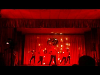 Конкурс Восходящая Звезда. Выступление хореографической группы Cheer style. 6В класс.