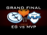 EG vs MVP - Final Dota Pit League S4 Highlights Dota 2