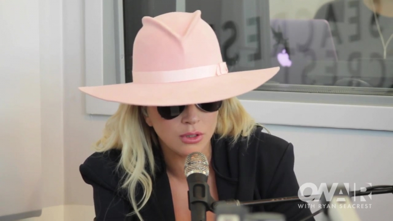 Lady Gaga Perfect Illusion Piano Version Live @ On Air with Ryan Seacrest