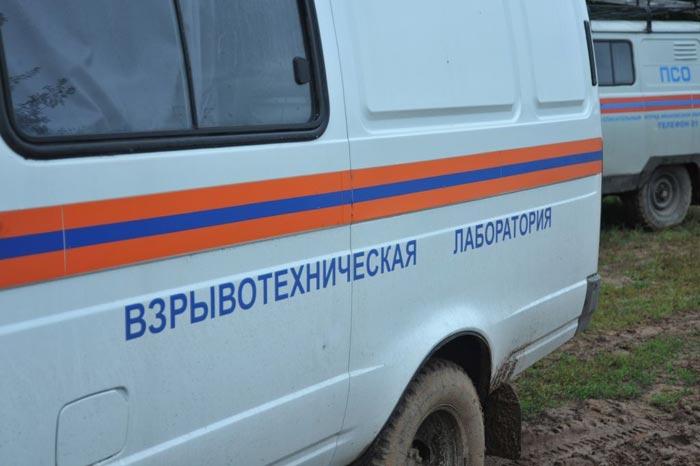 В Таганроге в автомобиле с металлоломом был найден снаряд и две части от реактивного огнемета