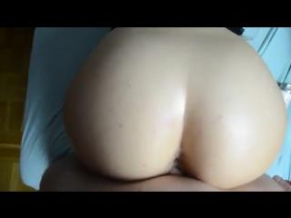 Домашнее порно с жопастой женой