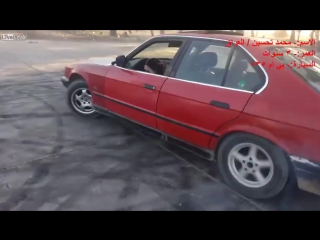 LiveLeak - 3 years old doing donuts in a bmw