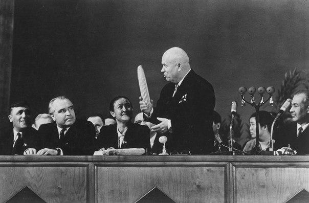 Весомый аргумент Никиты Хрущева. 1961