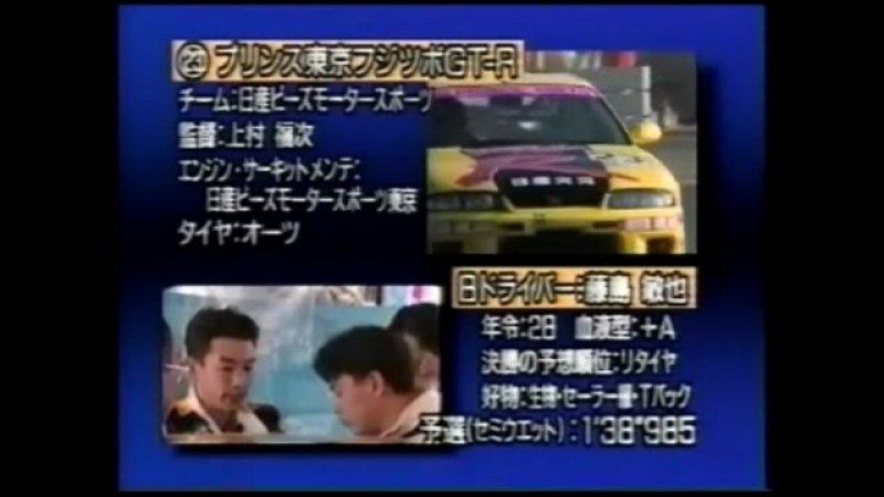 R33 GT-R vs R32 GT-R Battle at 1995 N1 Taikyu (Gr.N)