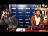 Childish Gambino Spits Dope Freestyle Over Drake's Pound Cake on Sway in the Morning