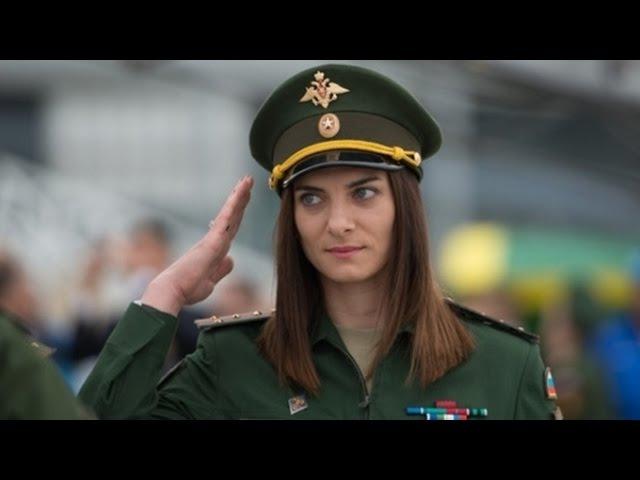 Елена Исинбаева на авиабазе Хмеймим в Сирии. 29.08.2016