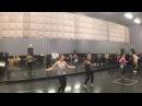 Jason Young Choreography - Ricky Martin Tour Rehearsal Shake Your Bon Bon 2014