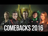MOST EPIC COMEBACKS IN 2016 - DOTA 2 #2