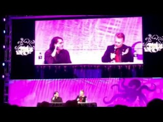 Gerard Way Talks Mother Panic for Young Animals DC Comics Stan Lee Comic Con Hot Topic Stage