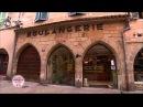 CAT FAIL Cat Runs Into Glass Door on French Bakery Programme