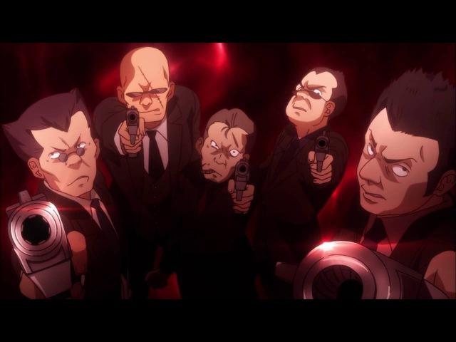 Отрывок из аниме (35ый отряд Антимагической академии)
