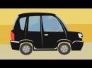 МАШИНКИ - Развивающая веселая детская песенка мультик малышей про разные машины...