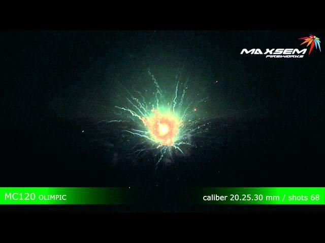 Maxsem Fireworks MC120 OLIMPIC