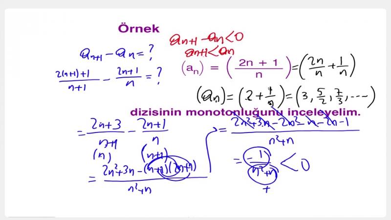 YGS-LYS MATEMATİK - Diziler - Seriler 2