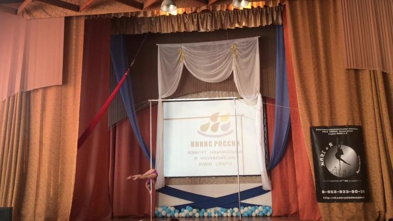 Фетина Оксана, POLE SPORT ,турнир по ВСА Архангельск 2016