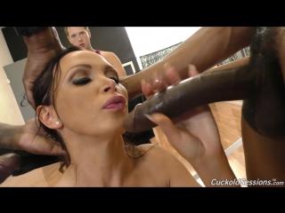 Nikki benz трахается в попу с неграми при муже (жена sexwife, cuckold измена,любовник порно sexwife mom mother anal ass анал)