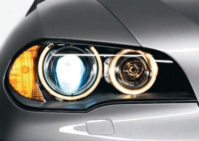 Ремонт фар BMW