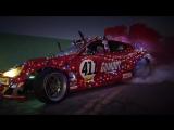 Санта и новогодний дрифт на Toyota GT4586