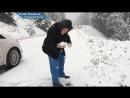 Ей 101 год, и она все еще радуется игре в снежки!!!