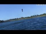 Настоящий ховерборд летает над водой / Flyboard® Air Test 1 / hoverboard - Franky Zapata
