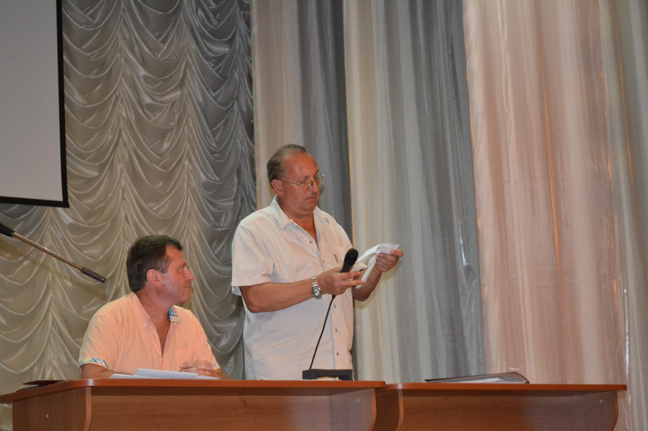 Конференція Вченої ради та Трудового колективу ЗНТУ