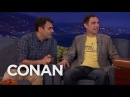 ArmComedy's Sergey Narek Teach Conan Some Colorful Armenian Phrases - CONAN on TBS