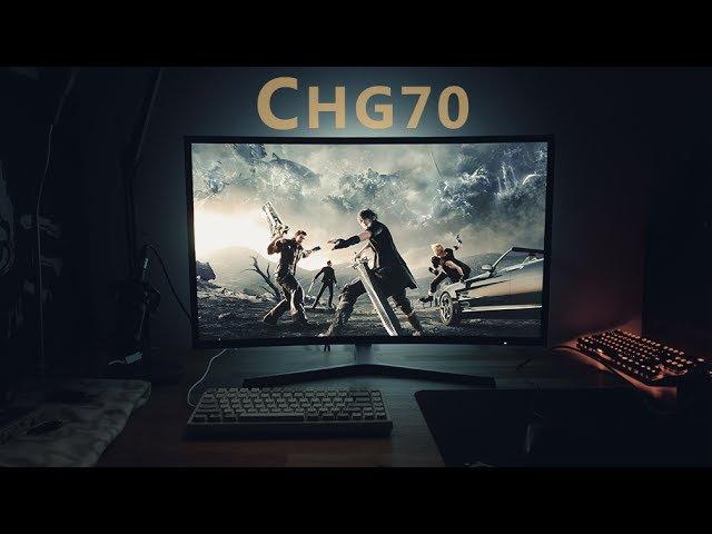 Samsung CHG70 Review (C32HG70): 144Hz HDR Quantum Dot Freesync 2 Gaming Monitor