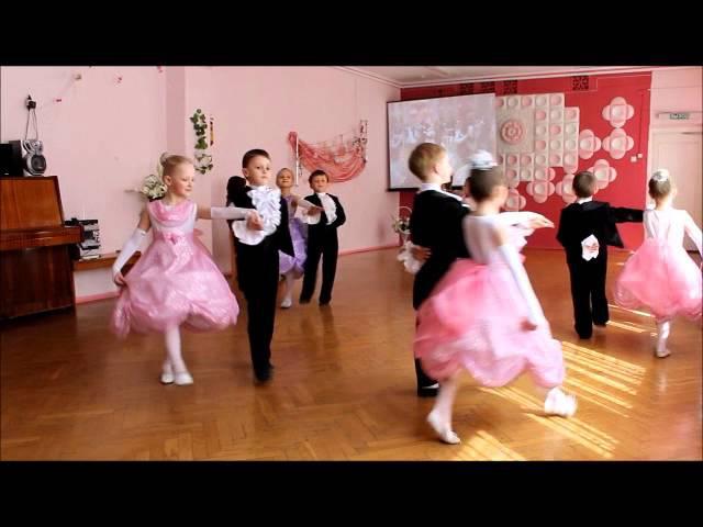 танец полонез ГУО Ясли-сад №120 г.Гомеля