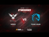 Wings vs Team Liquid, Game 1, SL i-League StarSeries Season 3, LAN-Final