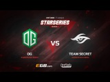 OG vs Team Secret, Game 2, SL i-League StarSeries Season 3, LAN-Final