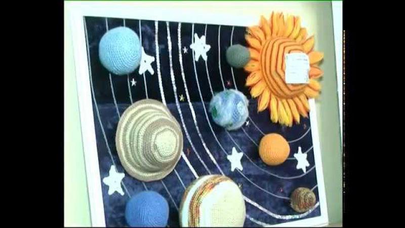 Космічна виставка в центрі Грані РКП 13 04 17
