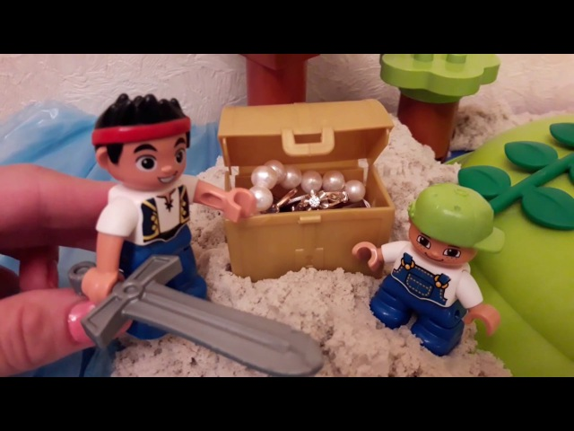 Джейк и пираты Нетландии Лего мультик В поисках сокровищ