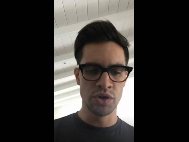 Brendon Urie Performs