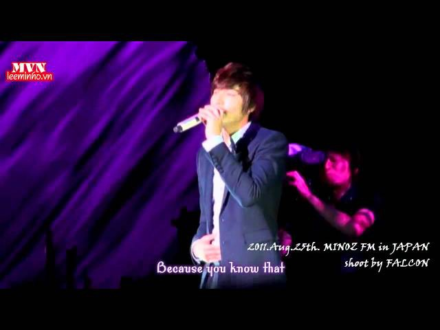 MVN Engsub Milk tea by Minho at Minoz JP 2nd event