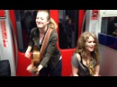 Subway Session Frankfurt KIDDO KAT and Heidi Joubert feat Ozzy Lino